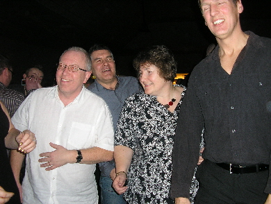 12.Peter, Mark,Jenny and Andy of the dance floor