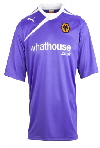 Wolves Away Shirt 2013-14